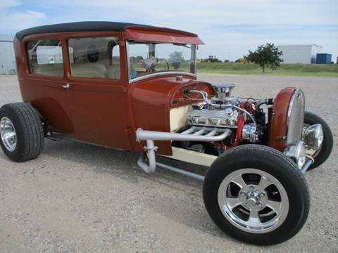 1929 Ford Model A for sale at Double TT Auto in Montezuma KS