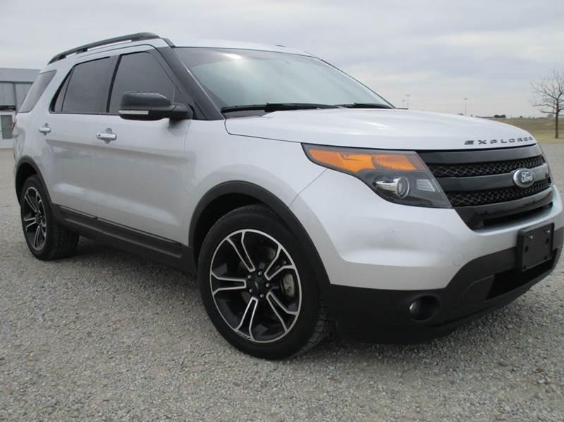 2013 Ford Explorer for sale at Double TT Auto in Montezuma KS