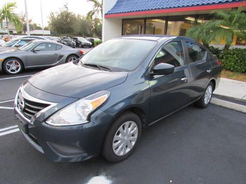 2016 Nissan Versa for sale in Margate, FL