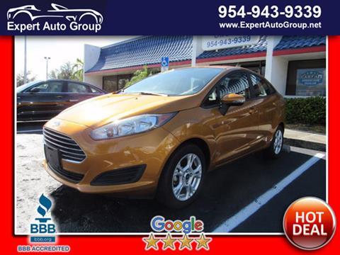 2016 Ford Fiesta for sale in Margate, FL