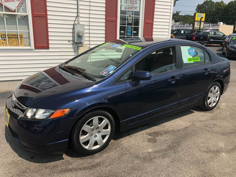 2008 Honda Civic LX 4dr Sedan 5A   Abington MA