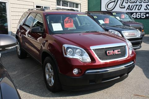 2010 GMC Acadia for sale in Mount Clemens, MI