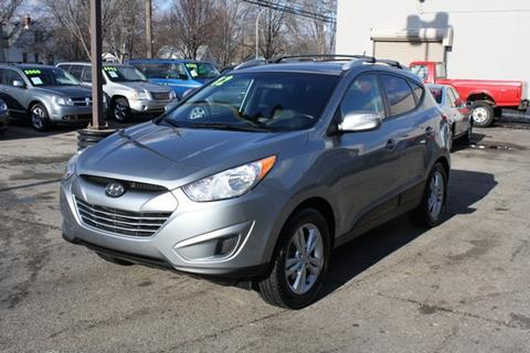 2012 Hyundai Tucson for sale at MICHAEL'S AUTO SALES in Mount Clemens MI