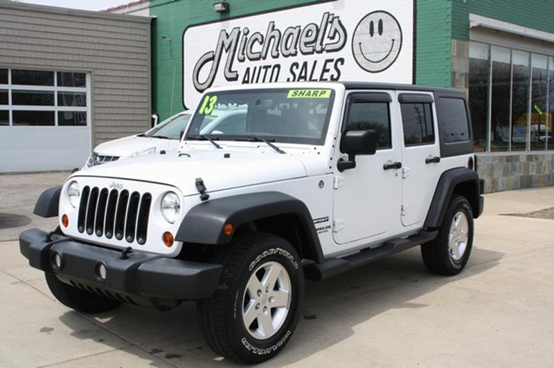 2013 Jeep Wrangler Unlimited for sale at MICHAEL'S AUTO SALES in Mount Clemens MI