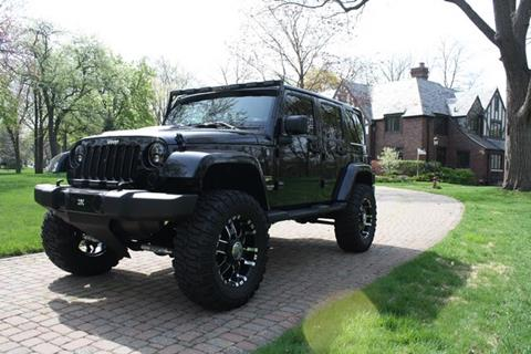 2012 Jeep Wrangler Unlimited for sale at MICHAEL'S AUTO SALES in Mount Clemens MI