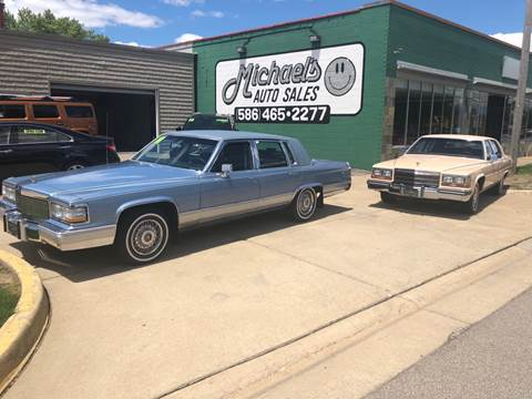 1991 Cadillac Brougham >> 1991 Cadillac Brougham For Sale In Mount Clemens Mi