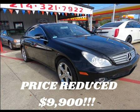 2007 Mercedes-Benz CLS for sale at East Dallas Automotive in Dallas TX