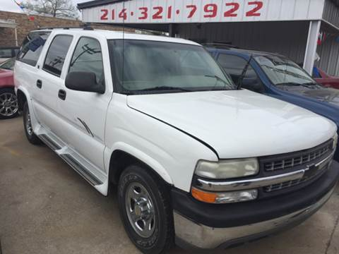 2001 Chevrolet Suburban for sale at East Dallas Automotive in Dallas TX