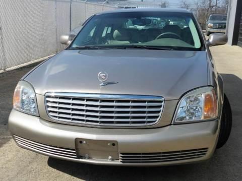 2001 Cadillac DeVille for sale at East Dallas Automotive in Dallas TX