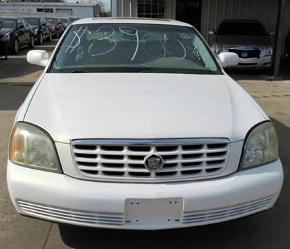 2004 Cadillac DeVille for sale at East Dallas Automotive in Dallas TX