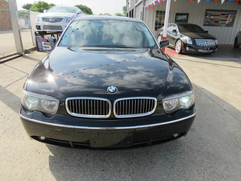2004 BMW 7 Series for sale at East Dallas Automotive in Dallas TX