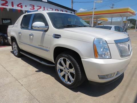 2007 Cadillac Escalade EXT for sale at East Dallas Automotive in Dallas TX