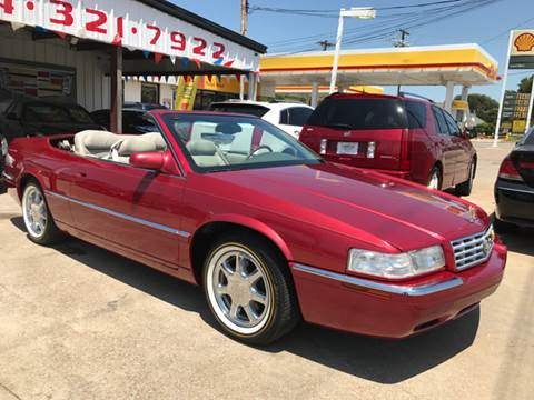 2002 Cadillac Eldorado for sale at East Dallas Automotive in Dallas TX