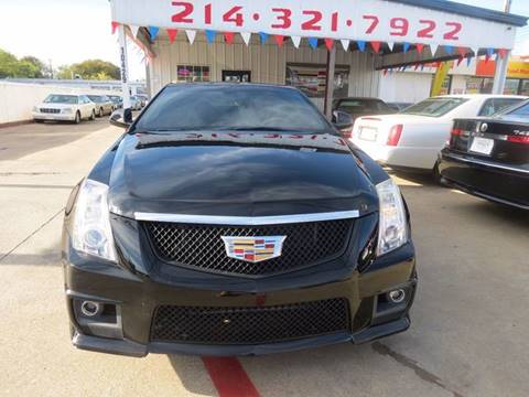 2012 Cadillac CTS for sale in Dallas, TX