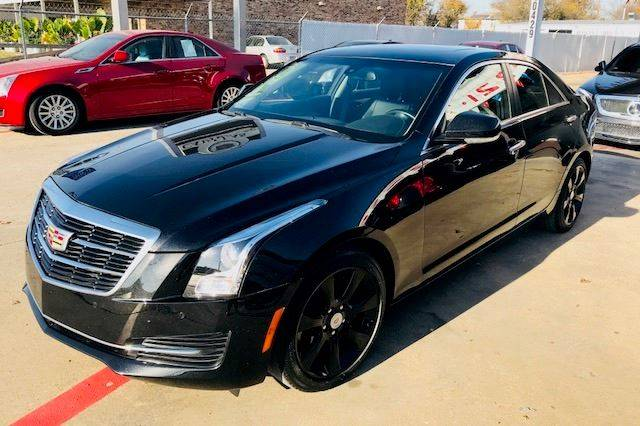 2015 Cadillac Ats 2 0t Luxury 4dr Sedan In Dallas Tx Dallas Cadillacs