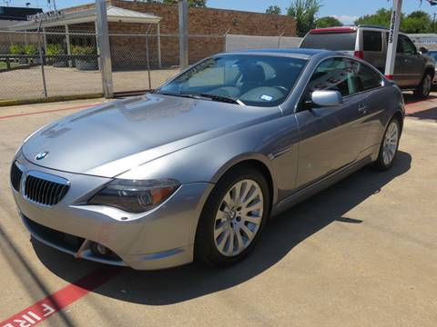 2004 BMW 6 Series for sale at East Dallas Automotive in Dallas TX