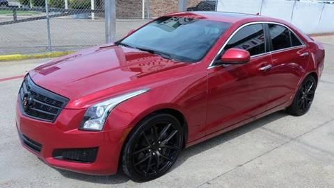 2013 Cadillac ATS for sale at East Dallas Automotive in Dallas TX