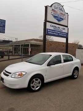 2007 Chevrolet Cobalt for sale at East Dallas Automotive in Dallas TX