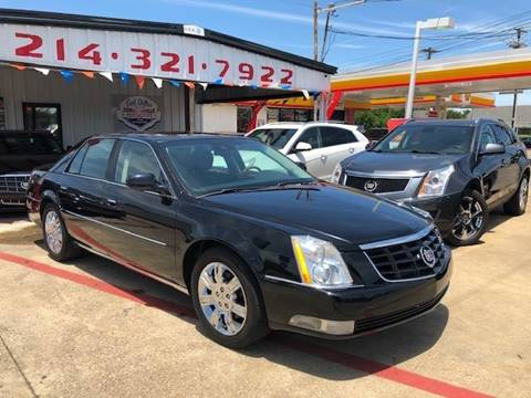2011 Cadillac DTS for sale at East Dallas Automotive in Dallas TX