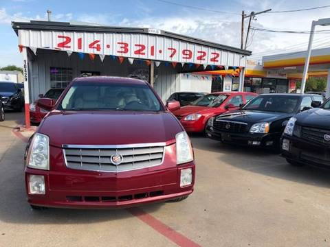 2004 Cadillac SRX for sale at East Dallas Automotive in Dallas TX