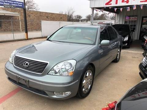 2002 Lexus LS 430 for sale at East Dallas Automotive in Dallas TX
