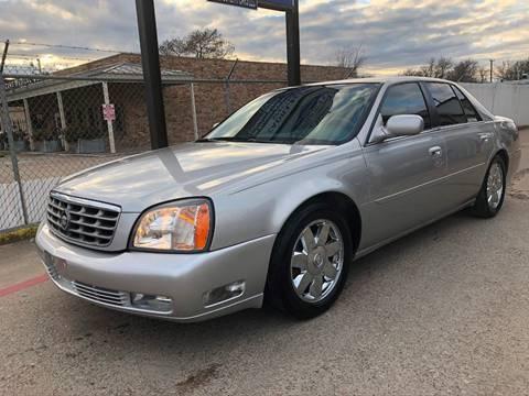 2005 Cadillac DeVille for sale at East Dallas Automotive in Dallas TX