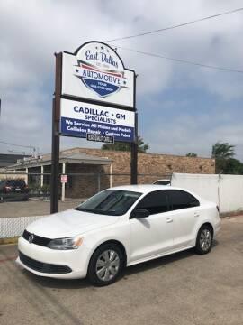 2012 Volkswagen Jetta for sale at East Dallas Automotive in Dallas TX