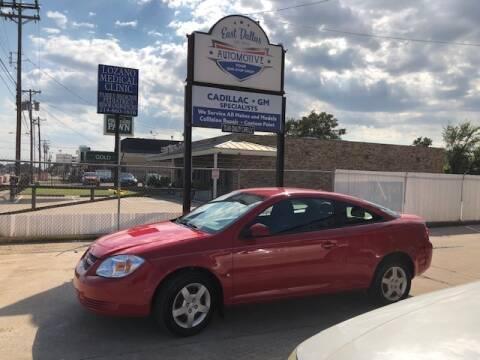 2008 Chevrolet Cobalt for sale at East Dallas Automotive in Dallas TX