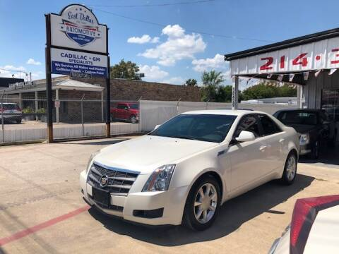 2009 Cadillac CTS for sale at East Dallas Automotive in Dallas TX