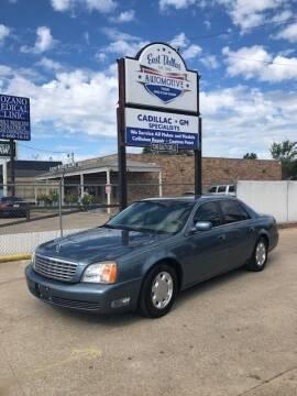 2000 Cadillac DeVille for sale at East Dallas Automotive in Dallas TX