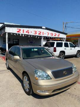 2001 Lexus LS 430 for sale at East Dallas Automotive in Dallas TX