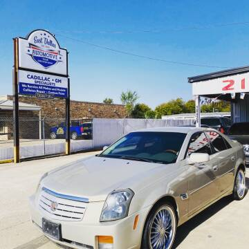 2007 Cadillac CTS for sale at East Dallas Automotive in Dallas TX