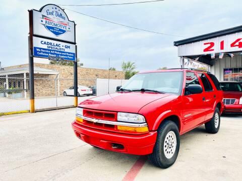 2004 Chevrolet Blazer for sale at East Dallas Automotive in Dallas TX