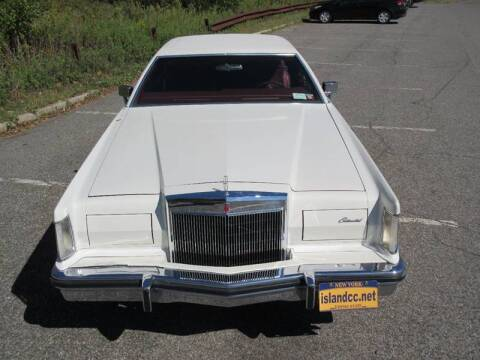 1978 Lincoln Mark V for sale at Island Classics & Customs in Staten Island NY