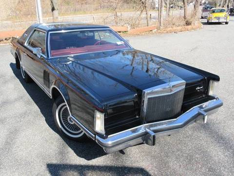 1977 Lincoln Continental for sale at Island Classics & Customs in Staten Island NY
