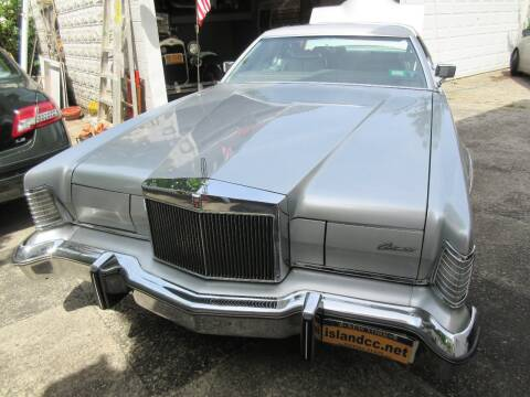 1975 Lincoln Mark IV for sale at Island Classics & Customs in Staten Island NY
