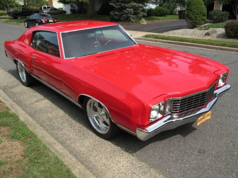 1972 Chevrolet Monte Carlo for sale at Island Classics & Customs in Staten Island NY