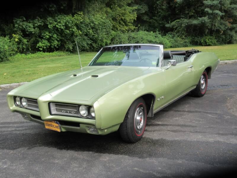 1969 Pontiac GTO for sale at Island Classics & Customs in Staten Island NY