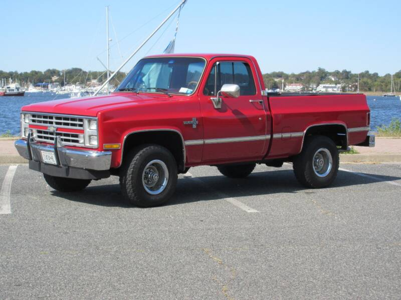 1986 Chevrolet C/K 10 Series for sale at Island Classics & Customs in Staten Island NY
