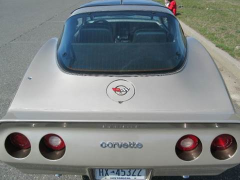 1982 Chevrolet Corvette for sale at Island Classics & Customs in Staten Island NY