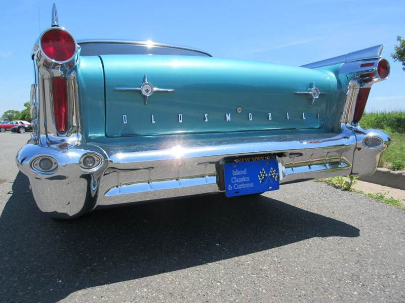 1958 Oldsmobile Super 88 for sale at Island Classics & Customs in Staten Island NY
