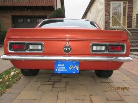 1968 Chevrolet Camaro for sale at Island Classics & Customs in Staten Island NY