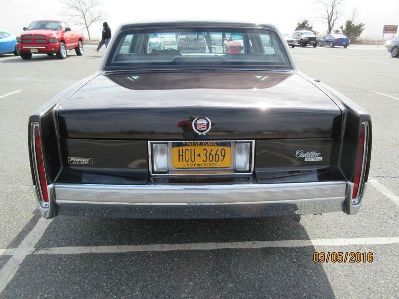 1989 Cadillac DeVille for sale at Island Classics & Customs in Staten Island NY