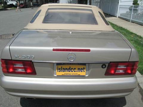2001 Mercedes-Benz SL-Class for sale at Island Classics & Customs in Staten Island NY