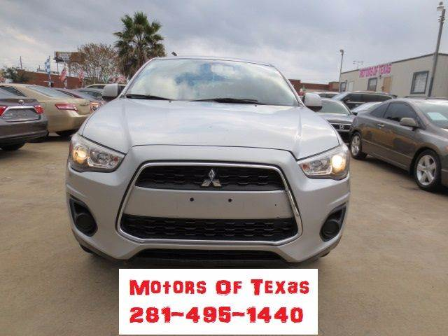 Mitsubishi Outlander Sport ES Dr Crossover CVT In Houston TX - Mitsubishi texas