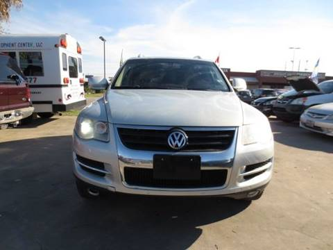 2008 Volkswagen Touareg 2 for sale at MOTORS OF TEXAS in Houston TX