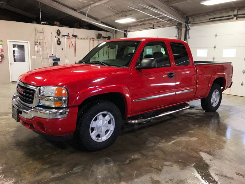 2006 Gmc Sierra 1500 Sle1 4dr Extended Cab 4wd 6 5 Ft Sb In
