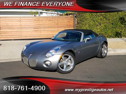 2006 Pontiac Solstice for sale in North Hollywood, CA