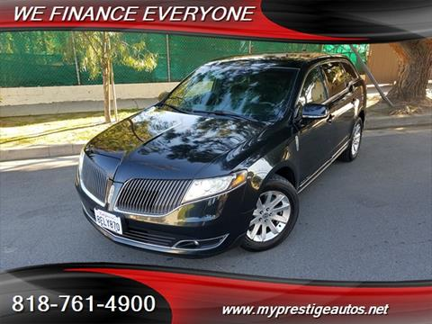 2013 Lincoln MKT Town Car for sale in North Hollywood, CA