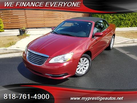 2014 Chrysler 200 Convertible for sale in North Hollywood, CA